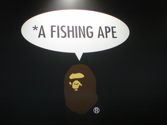 A FISHING APE